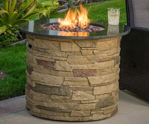 christopher knight home, best gas fire pit