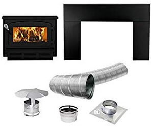 drolet escape 1400 review, wood burning fireplaces