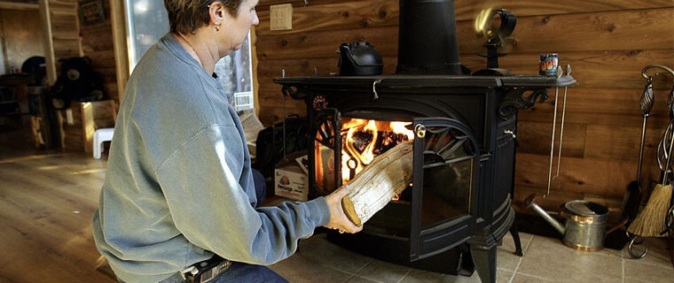 how to clean a chimney with a wood stove insert, how to measure for a wood stove insert
