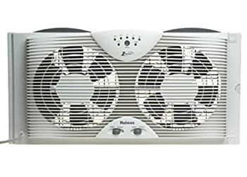 Holmes Window Fan With Easy One Touch Thermostat